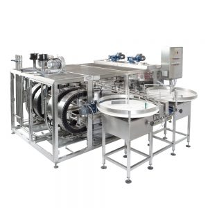 Üvegmosó és -szárító gépek